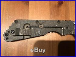 Used Strider SMF Digital Camo Folding Knife