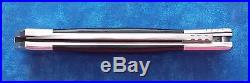 Very Rare Bob Cargill Custom Slide Bolster Lock Folding Knife Stidham Estate