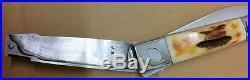 Vintage 1973 Barry B Wood Custom Rotating Folding Knife #213 Venice California