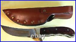 Vintage 1989(V) Buck Kalinga 401 fixed blade Hunting Knife-unused/near mint