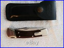 Vintage Buck Knife Model 110 -I Assist Nickel Custom Made in 2006 Pristine/Mint