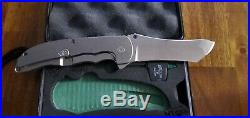 Virtually New Grimsmo Norseman Custom Knife RWL34 with Certificate and Sticker
