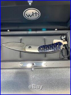 William Henry B09 Kestrel Forest Glen Knife Blue