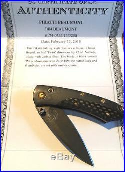 William Henry'Beaumont' pocket knife