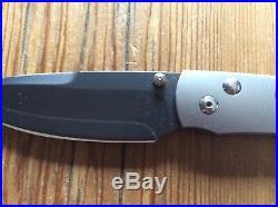 William Henry Carbon Fiber & Steel Knife