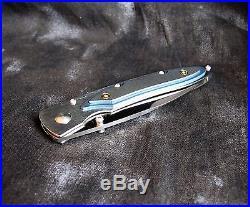 William Henry Custom-Made Folding Pocket Knife in Box
