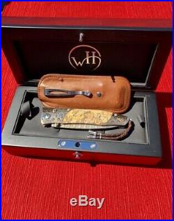 William Henry Gentac Copper Bay Folding Knife- 7 inches long with 3 inch blade