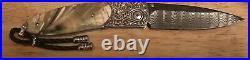 William Henry Knife B05 Monarch KLONDIKE Ring-Cut Fossil Mammoth & Topaz 50/50