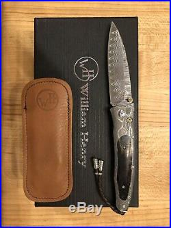 William Henry Knife B30 Gentac PRIMAL Wooly Mammoth And citrine Retail $ 1750