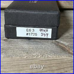 William Henry Knife E6-3 Aluminum, Carbon fiber and D2 Steel