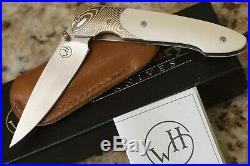 William Henry Knife T10 twist Mokume Mammoth 28/100 Limited Edition AG Russell
