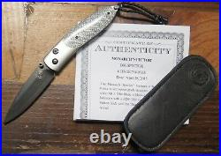 William Henry Limited Edition 49/100 B05 Spector Collectors Knife Full Box Set