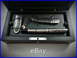 William Henry Limited Edition Knife B10, Pen RB8, Money Clip M2 Set 054/100