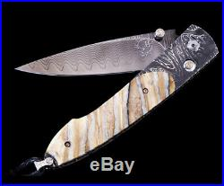William Henry Pocket Knife B10 Lancet Hieroglyph