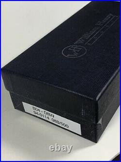 William Henry Pocket Knife Collectable B04-DBW Pikatti 88/500 Damascus Steel