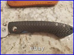 William Henry Studio T12-CF Carbon Fiber Knife