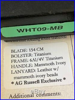 William Henry T-09 AG4 AG Russell Limited Edition stabilized Mammoth 145cm