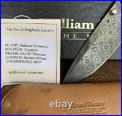 William Henry T12 DP Special Production Knife Rare