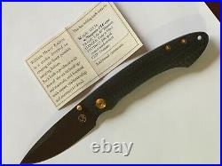 William Henry T12bt Carbon Fiber 24k Gold Coated Stainless Steel Fittings