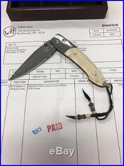 William henry knife knives 090520