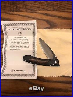 William henry knife knives E10-10