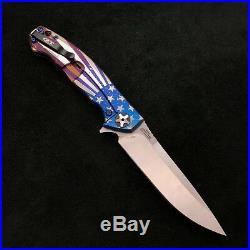 Zero Tolerance ZT 0452CF Plain Edge Folder BWL USA Starburst Ano zt452cf
