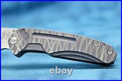 -medford Knife & Tool Infraction Custom! Rugged Adventurous Look